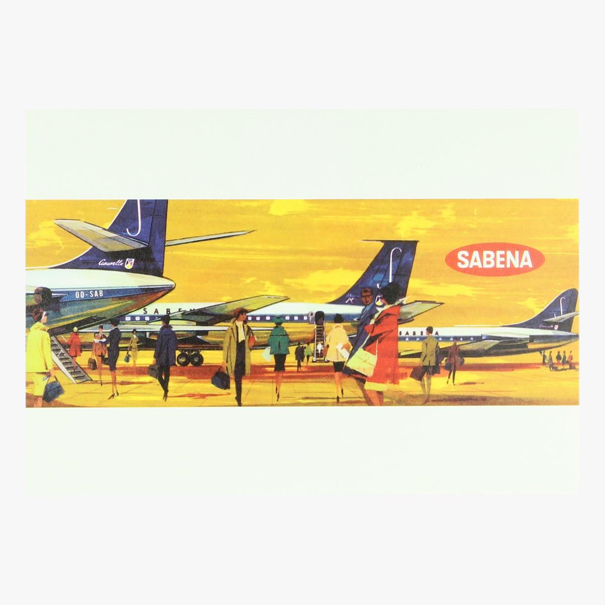 Afbeeldingen van postkaart sabena
