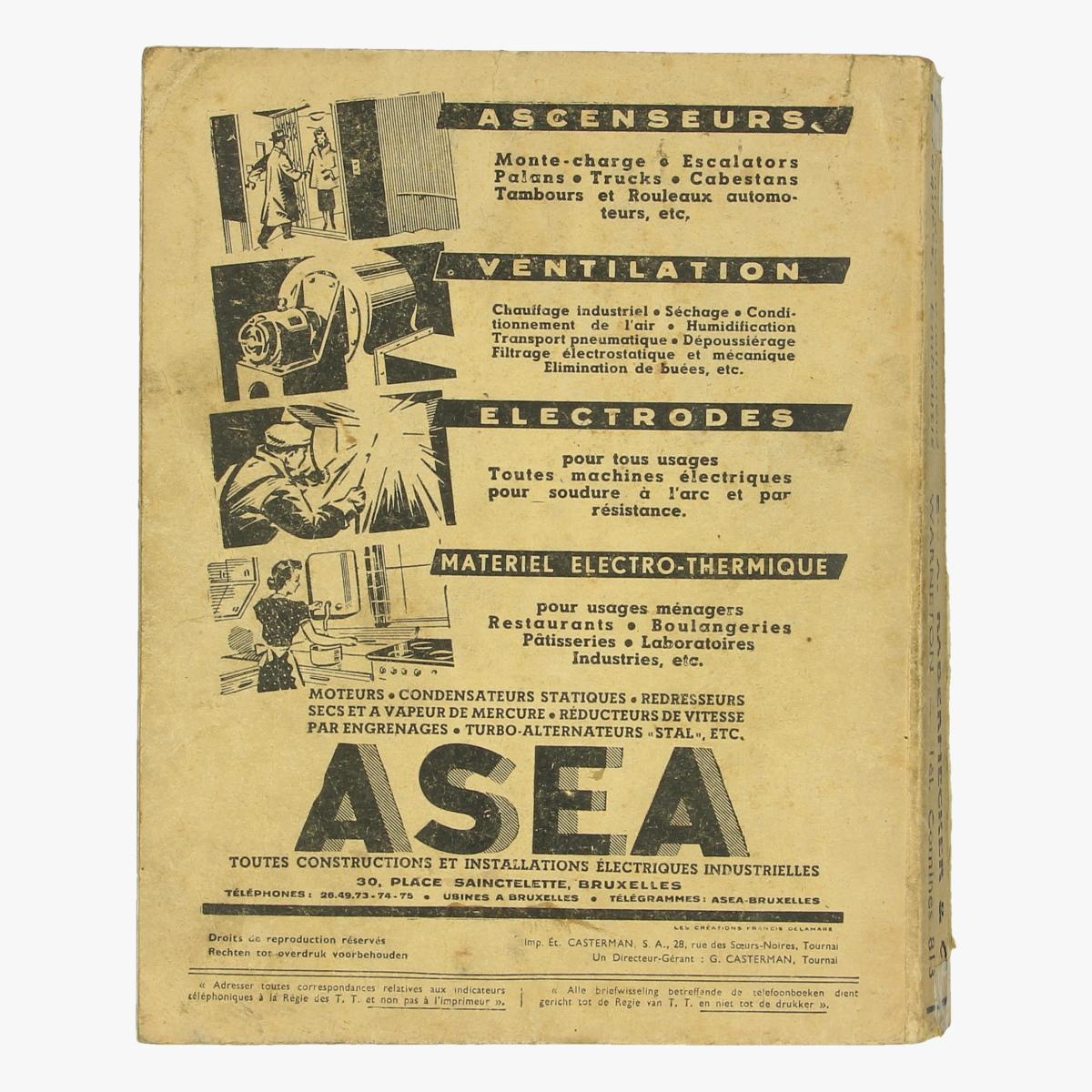 Afbeeldingen van officiele naamlijst der telefonen 1951