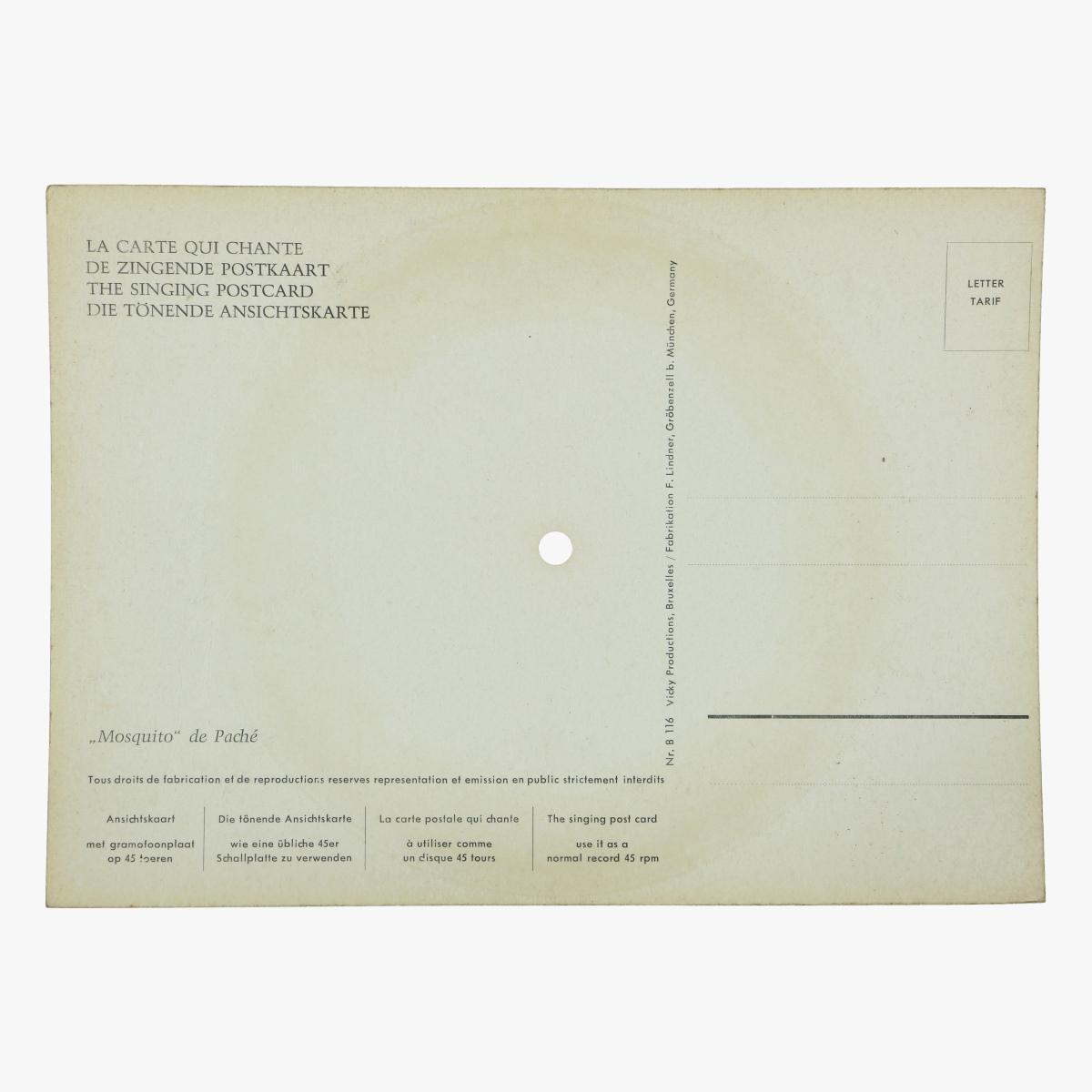 Afbeeldingen van de zingende postkaart brugge single op 45 toeren mosquito de paché