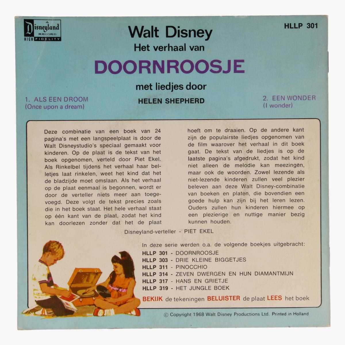 Afbeeldingen van Singel, Walt Disney Het Verhaal van Doornroosje