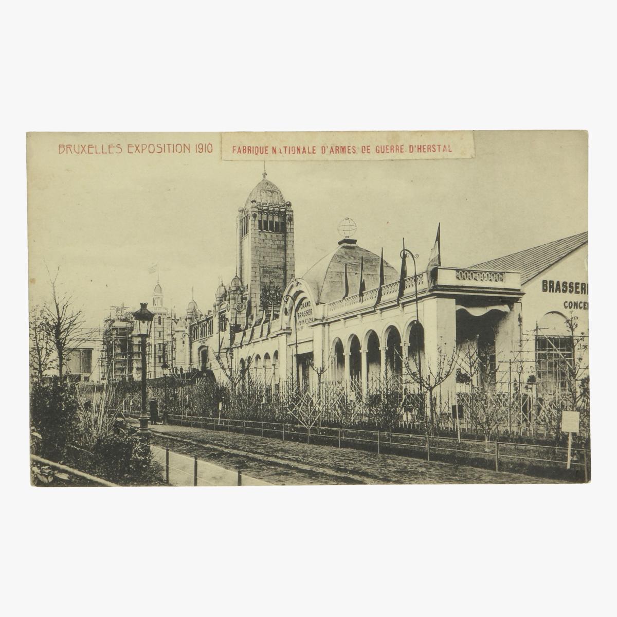 Afbeeldingen van postkaart bruxelles exposition 1910 fabrique nationale d' armes guerre d'herstal