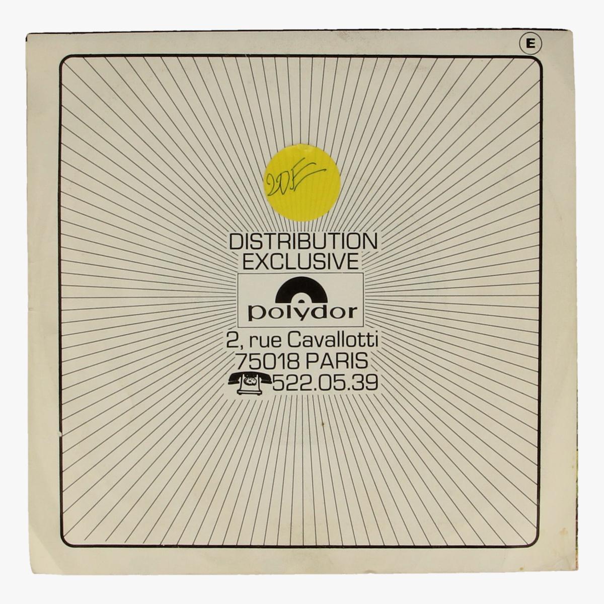Afbeeldingen van La flûte a six schtroumpes 45 toeren LP Polydor