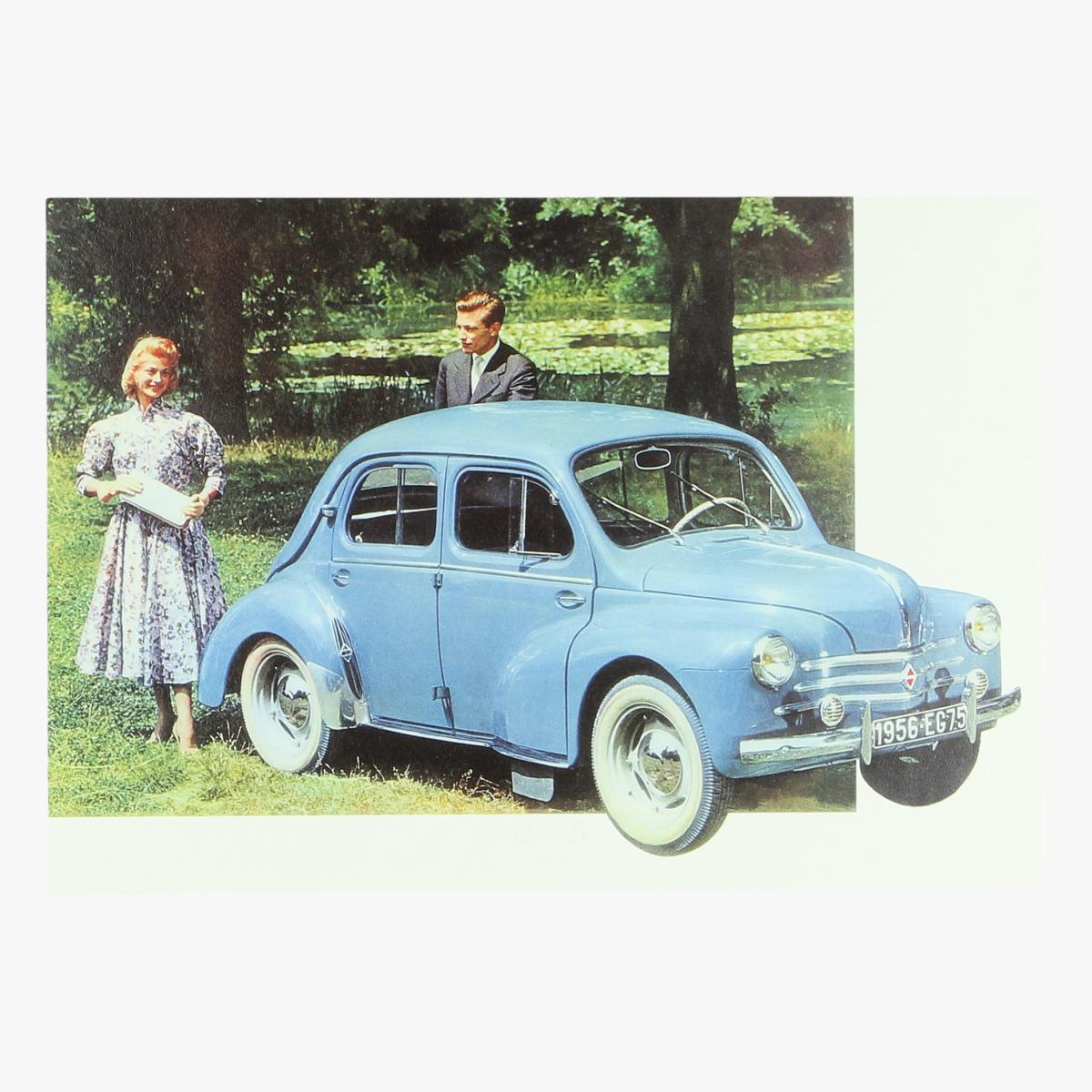 Afbeeldingen van La 4 cv Renault 1956 repro