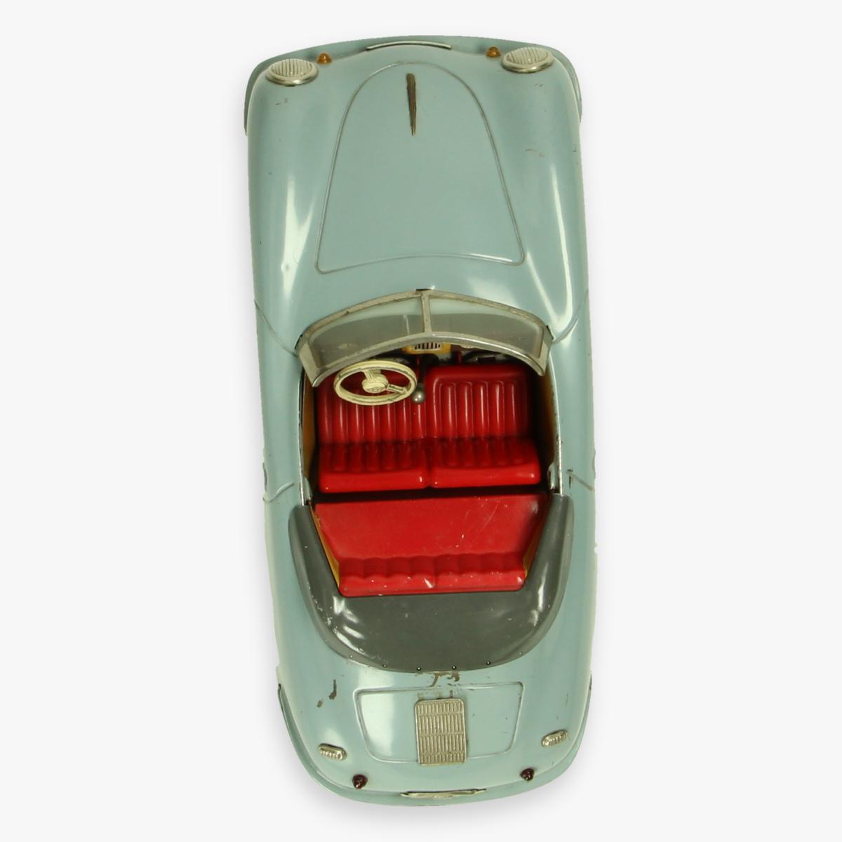 Afbeeldingen van blikken distler porsche 356 grijs jaren 50 electro matic 7500