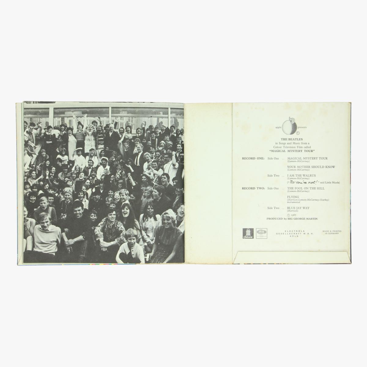 Afbeeldingen van The Beatles Magical Mystery Tour singel