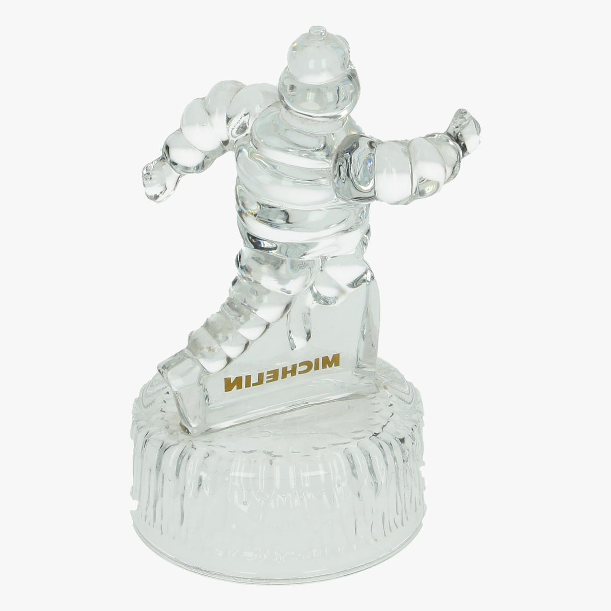 Afbeeldingen van Michelin Beeld in glas. Trofee.