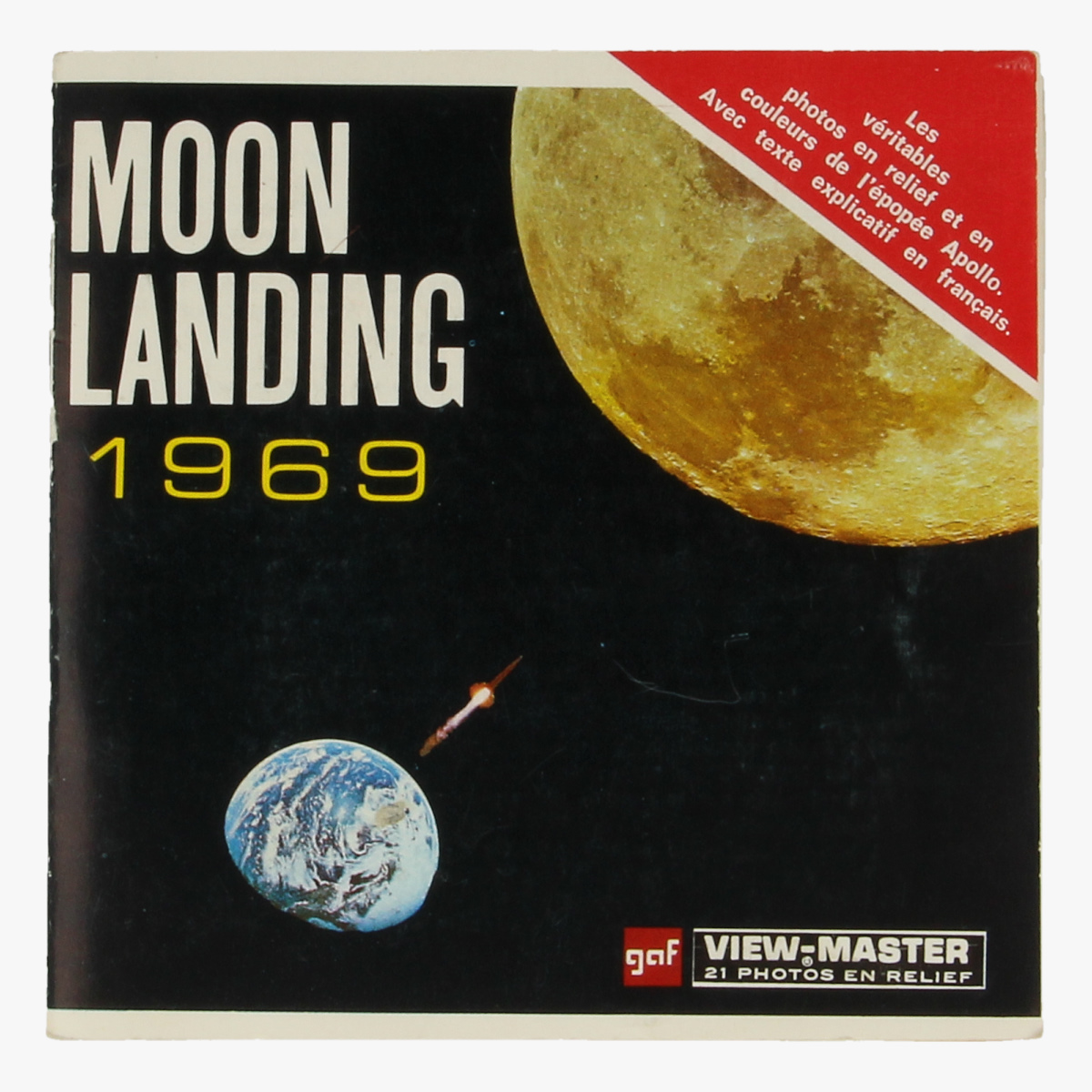 Afbeeldingen van View-master Moonlanding 1969