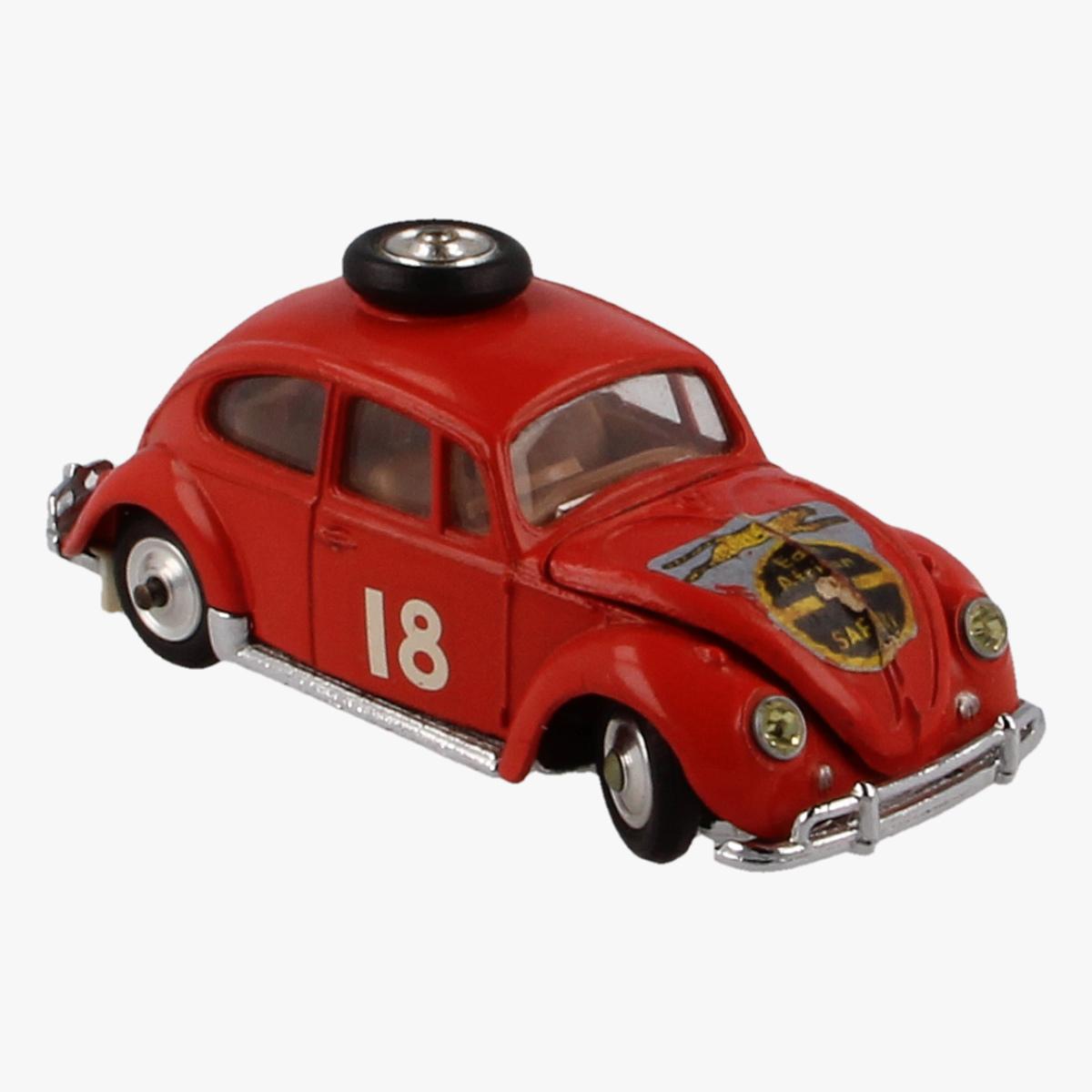 Afbeeldingen van Corgi Toys. Volkswagen 1200 in East African Safari Trim. Nr.256