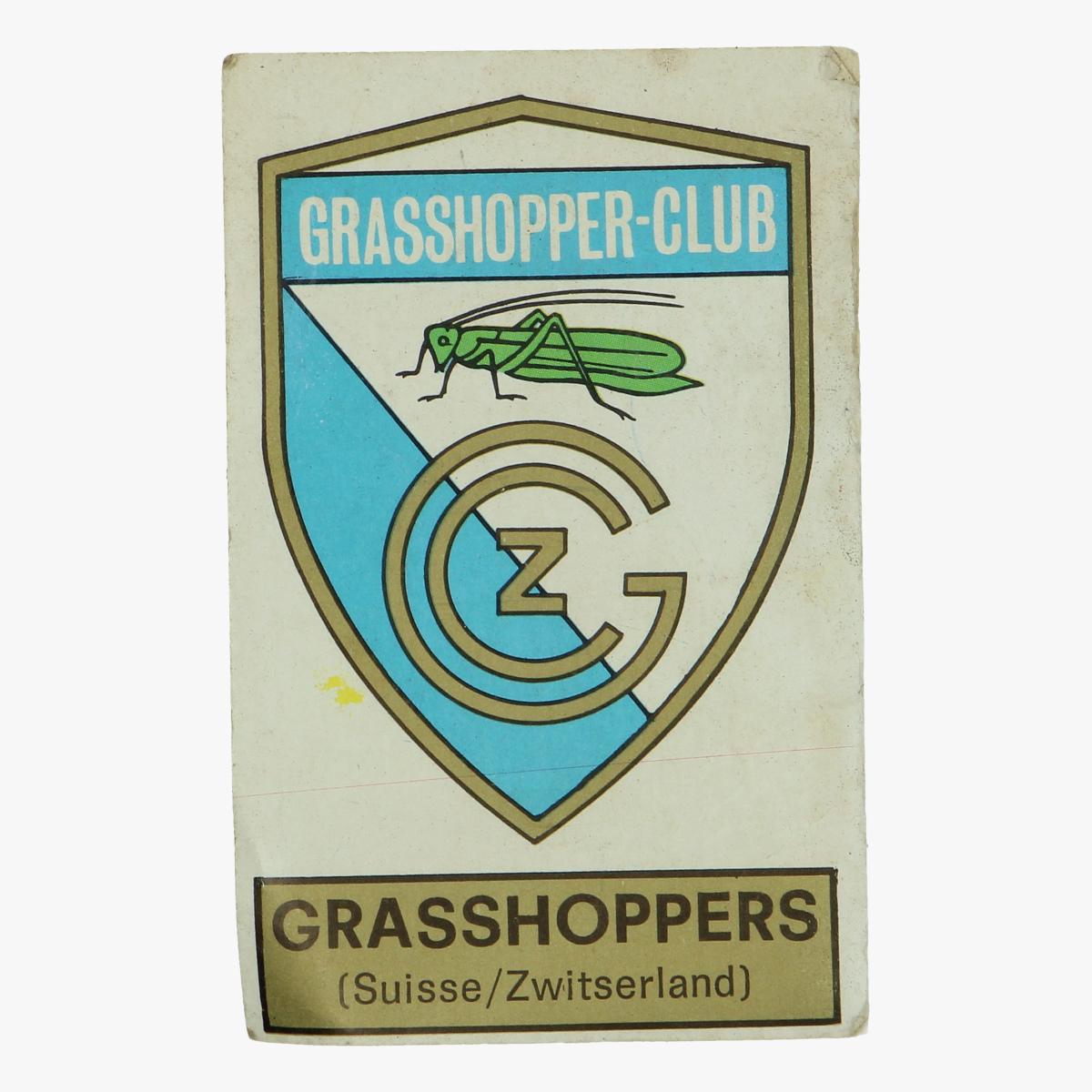 Afbeeldingen van grasshopper-club zwitserland panini foosball 1972/73