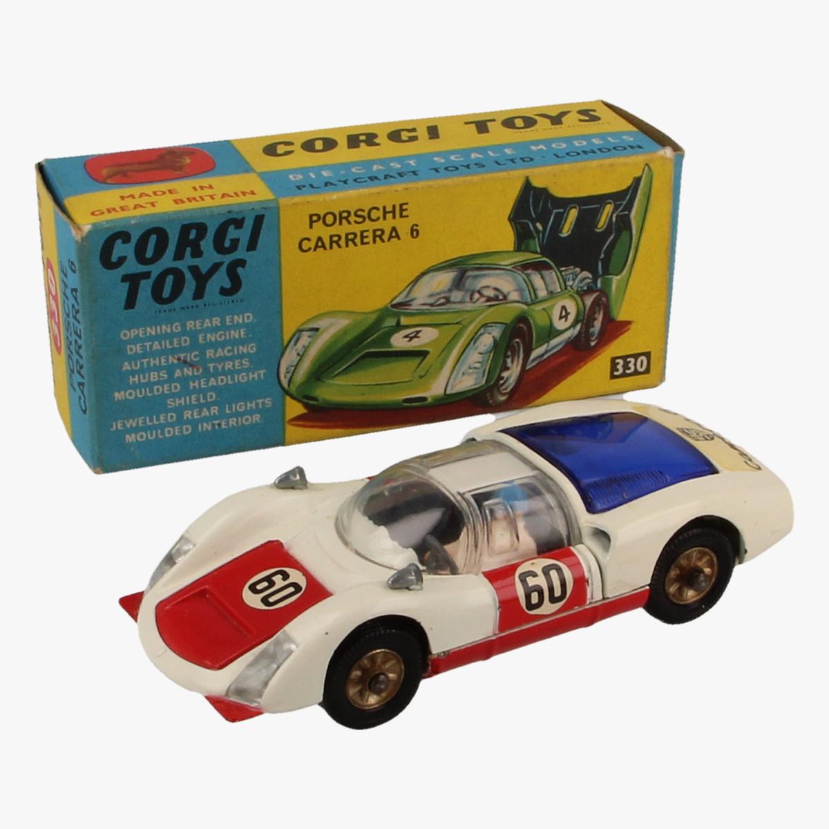 Afbeeldingen van Corgi Toys, Porsche Carrera 6,330.