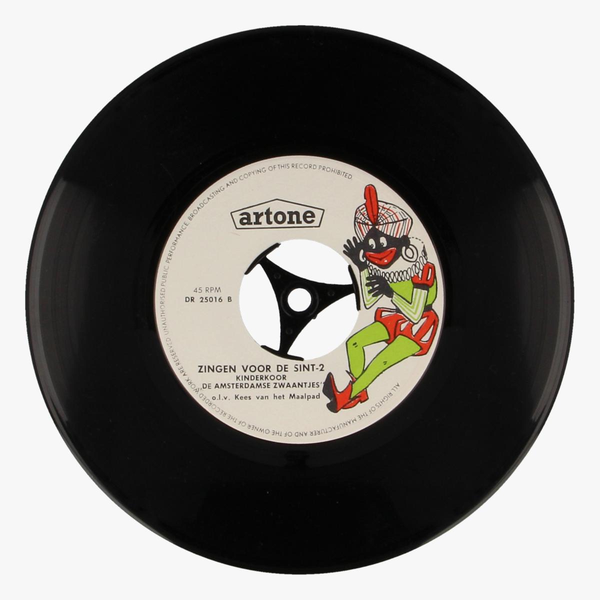 Afbeeldingen van Zingen voor de sint LP 45toeren Artone