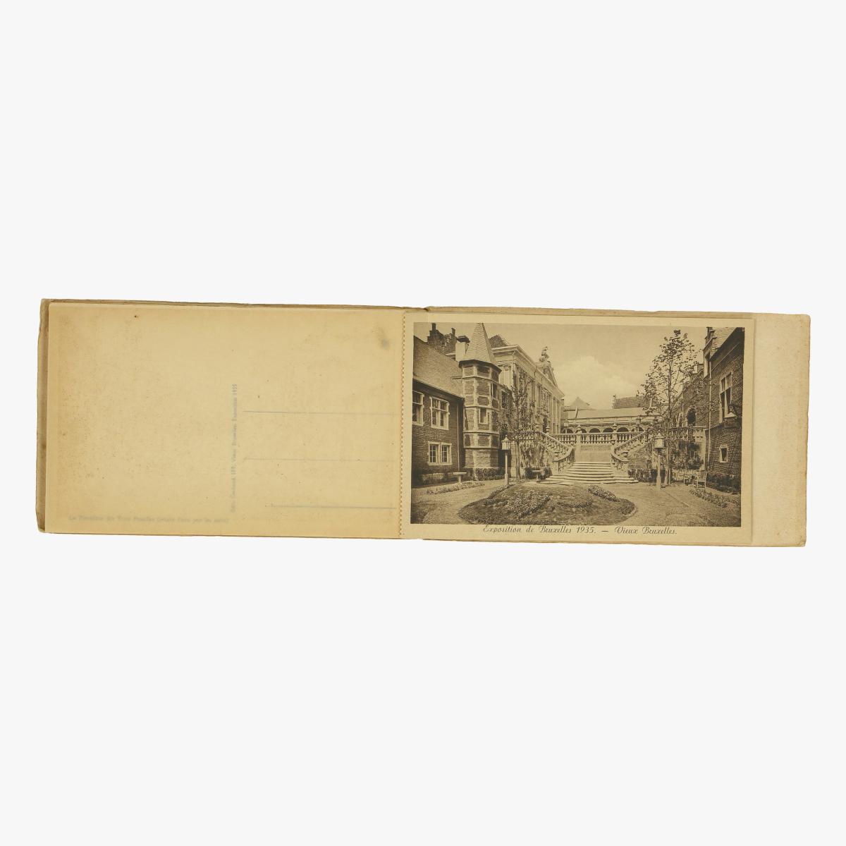 Afbeeldingen van gedenkenis wereldtentoonstelling van brussel 1935  serie 3