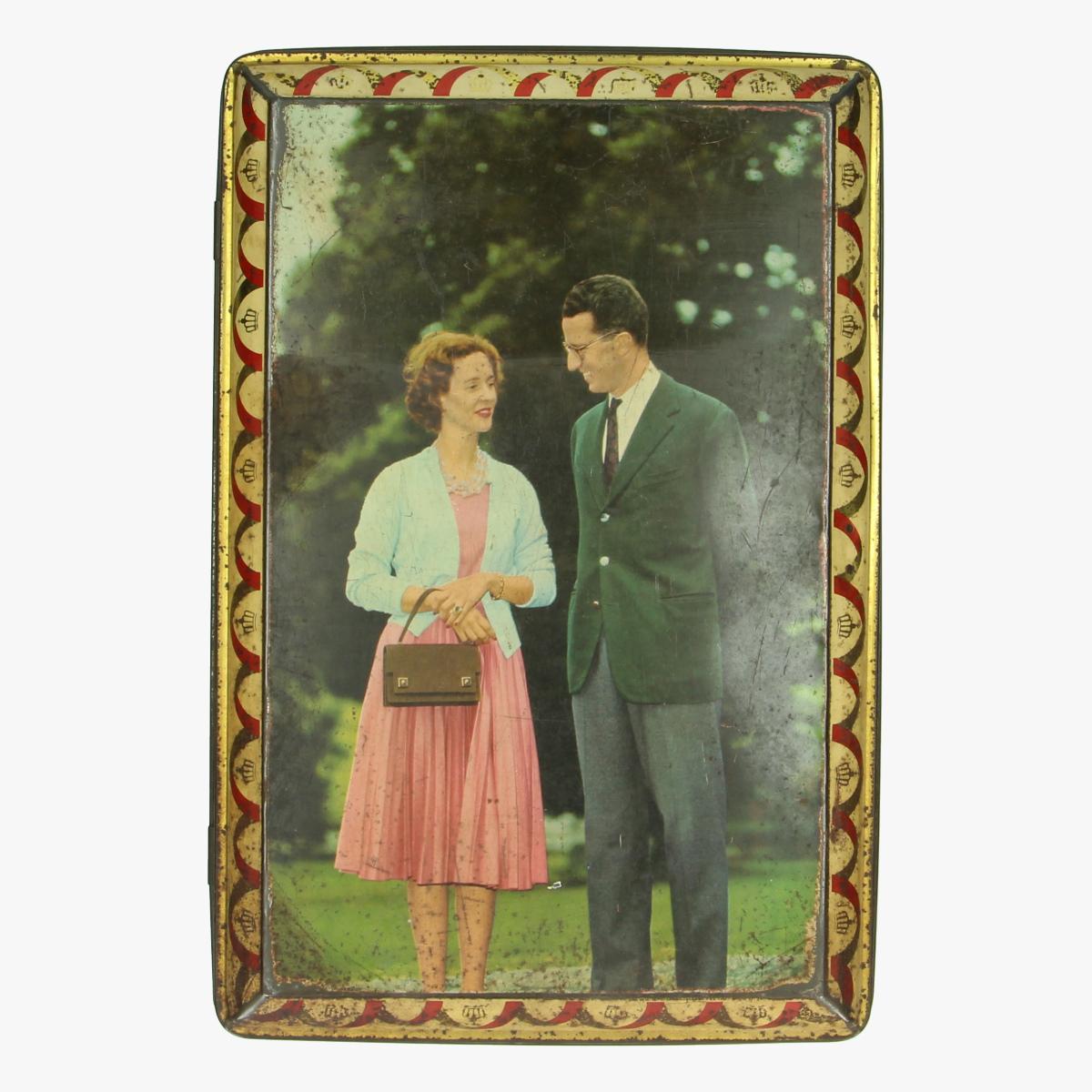 Afbeeldingen van Blikken doos Boudewijn en Fabiola