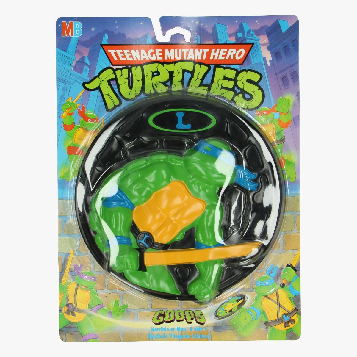 Afbeeldingen van Teenage mutant hero Turtles frisbee Leonardo