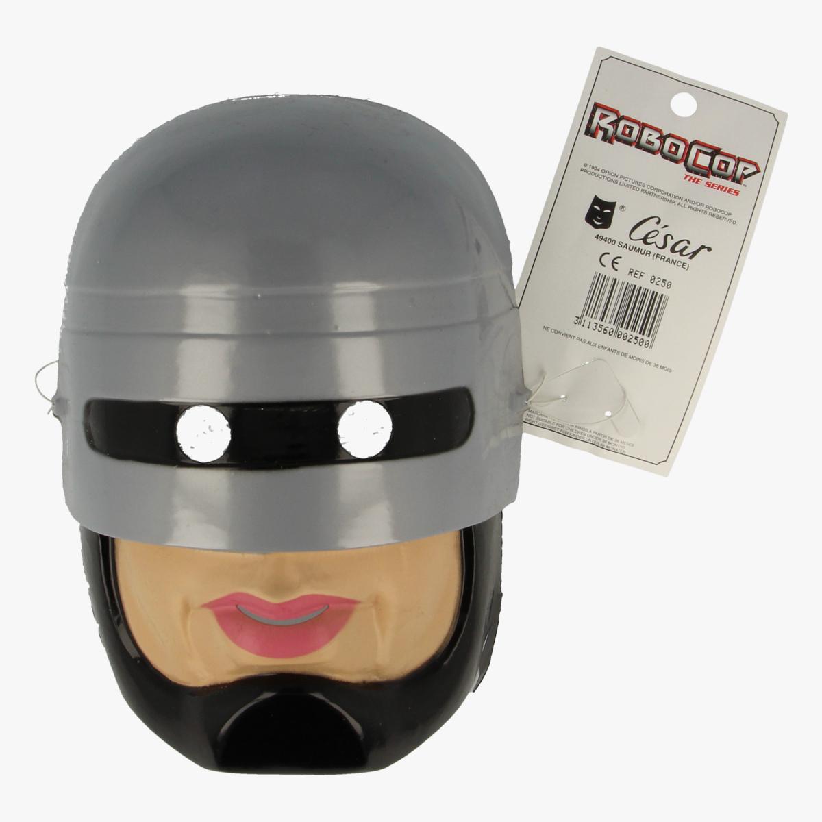 Afbeeldingen van Masker carnaval robocop
