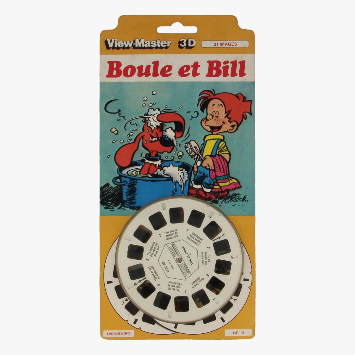 Afbeeldingen van View-master Boule et Bill Bandes Dessinees nr 14