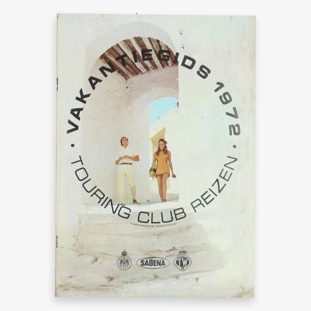 Afbeeldingen van vankantiegids 1972 touring club reizen - sabena