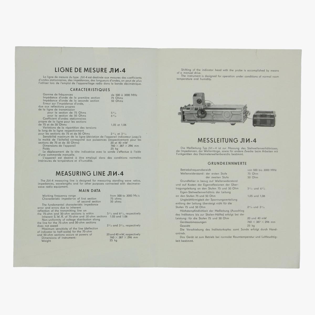 Afbeeldingen van expo 58 folder meet apparatuur urss