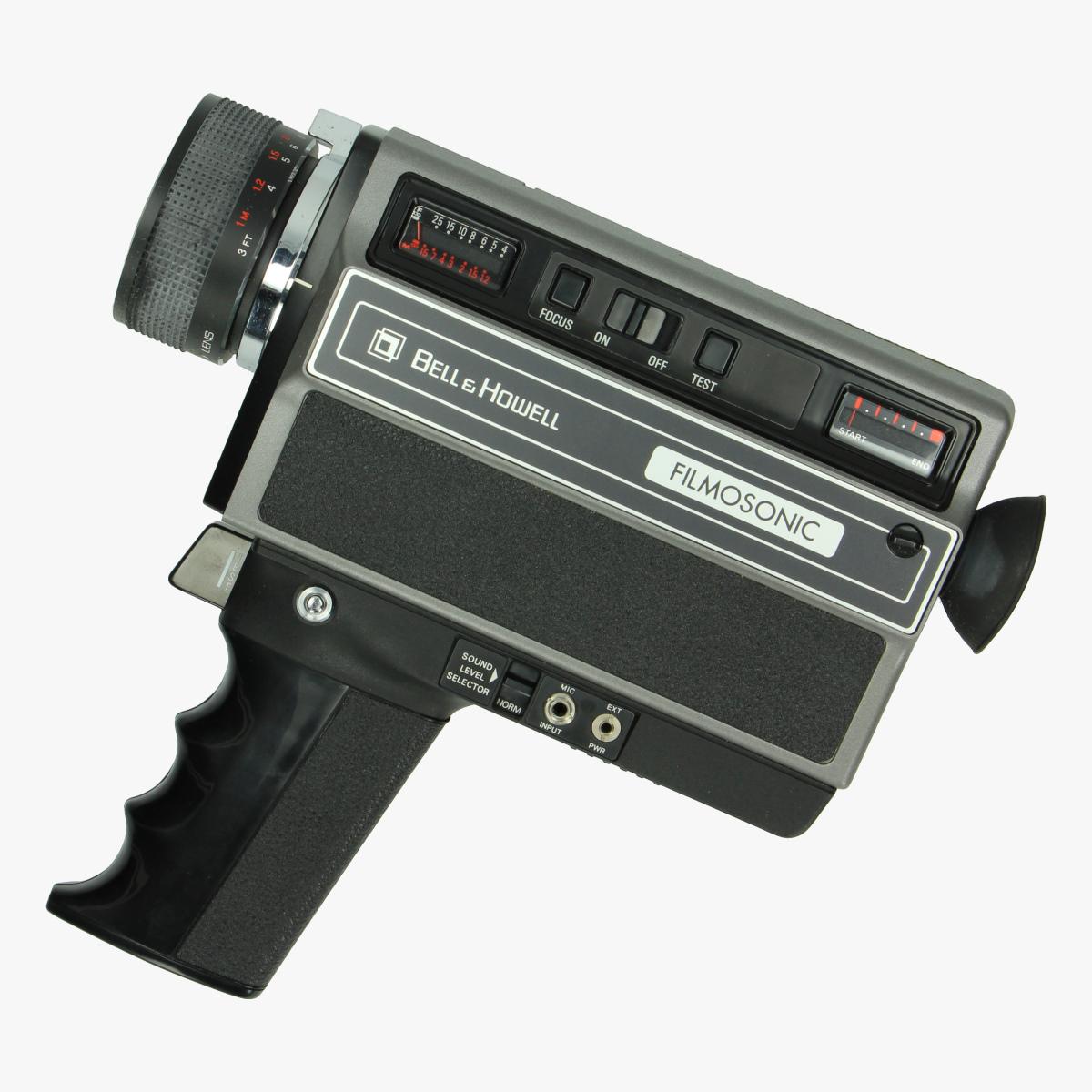 Afbeeldingen van Handcamera Bell & Howell 1223 Filmosonic