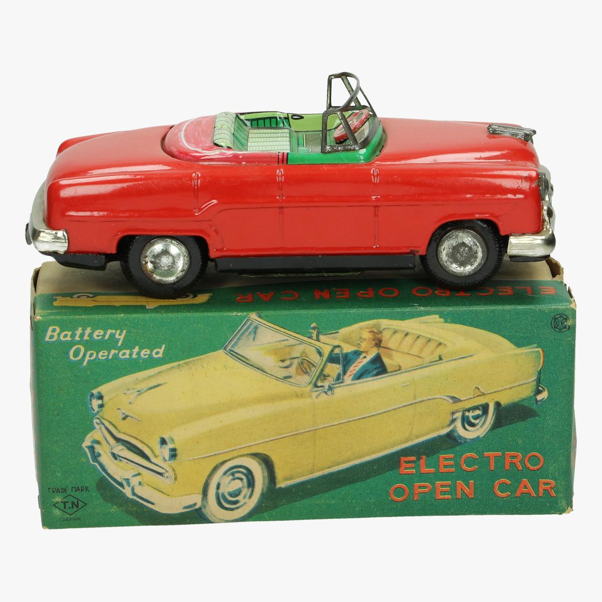 Afbeeldingen van electro open car 1958