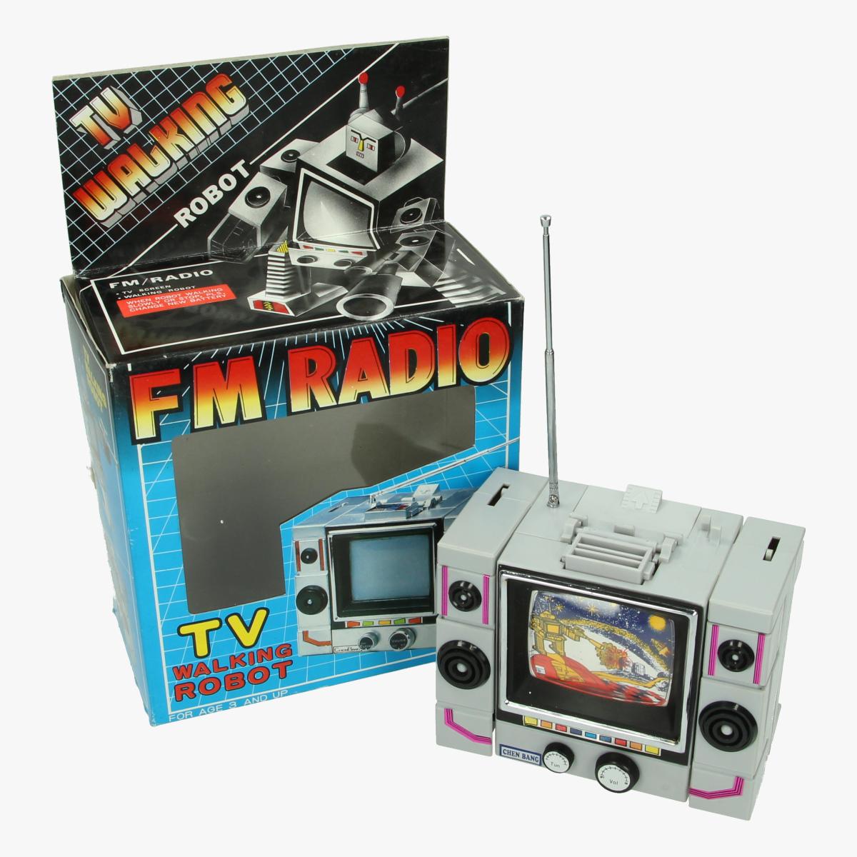 Afbeeldingen van Tv Walking Robot- FM Radio
