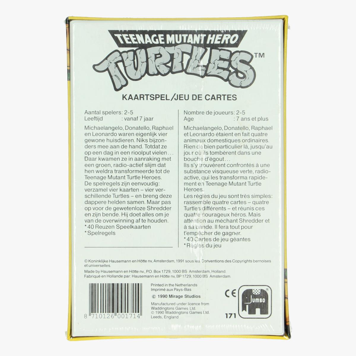 Afbeeldingen van Kaartspel Teenage mutant hero turtles