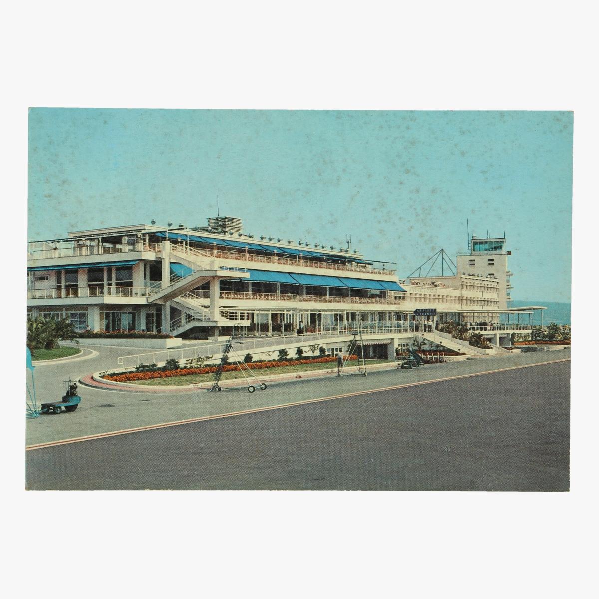 Afbeeldingen van oude postkaart l' aeroport de nice-côte-azur