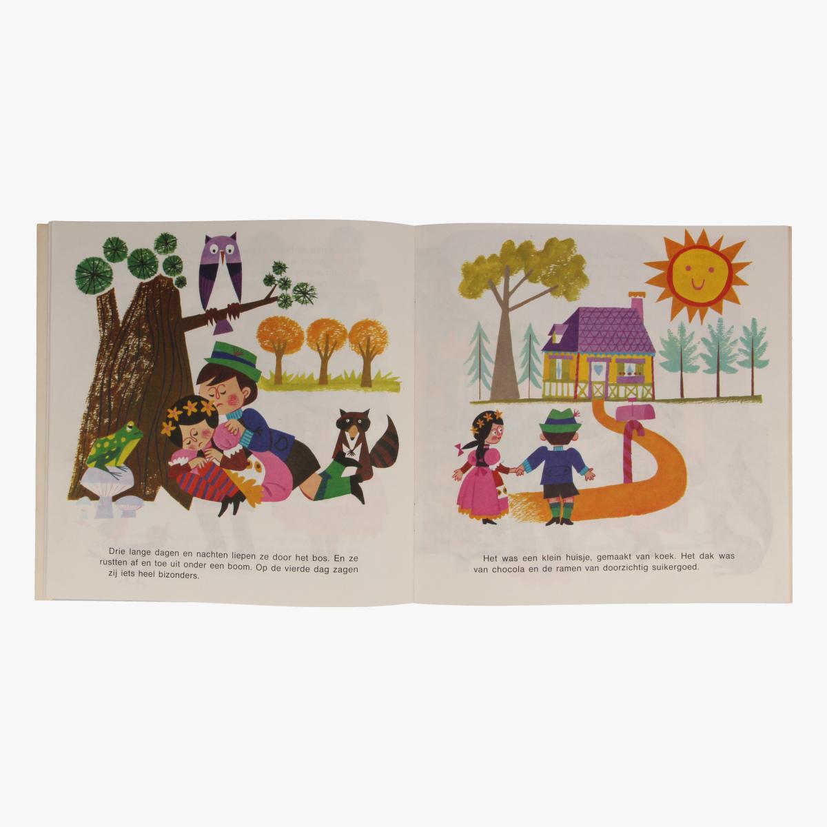 Afbeeldingen van Het verhaal met Hans en Grietje LP 33 1/3