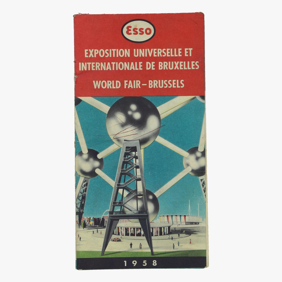 Afbeeldingen van expo 58 ESSO world fair - brussels 1958