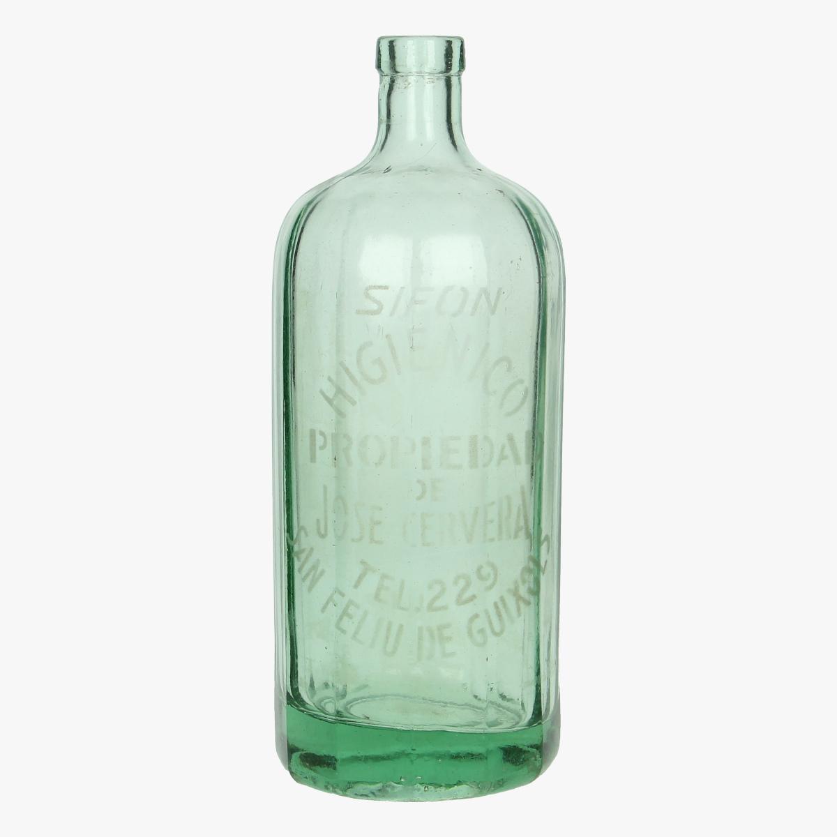 Afbeeldingen van oude soda fles san feliu de guixols sifon higienico propiedad de jose cervera