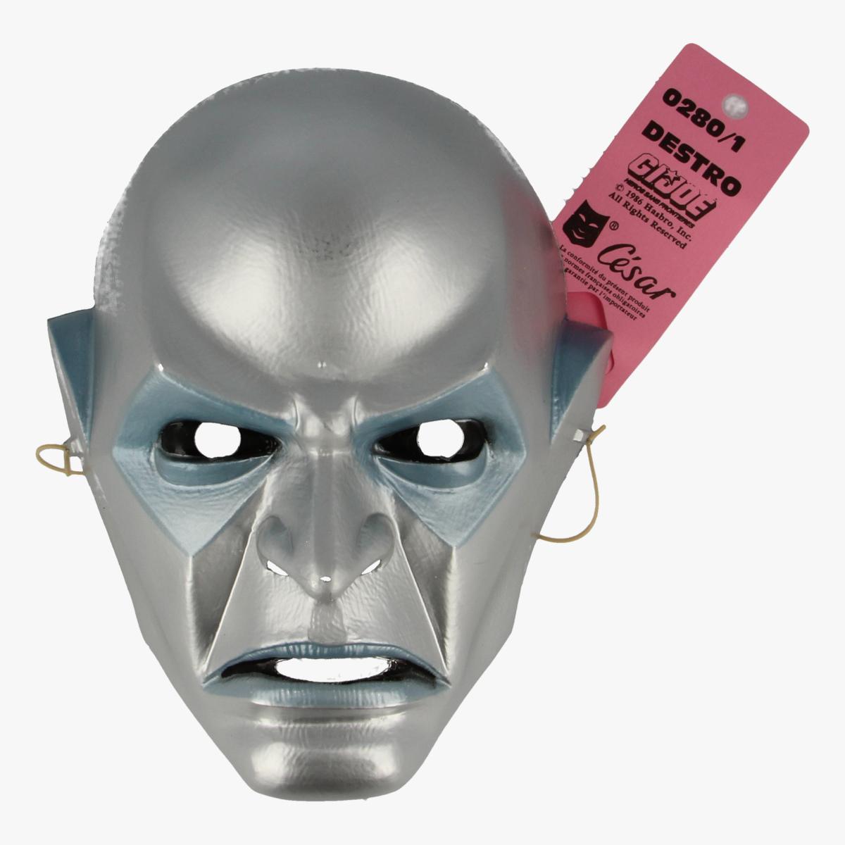 Afbeeldingen van Masker carnaval Destro G.I. Joe