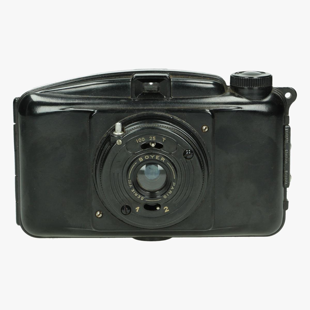 Afbeeldingen van bakelieten fotocamera photax boyer lens