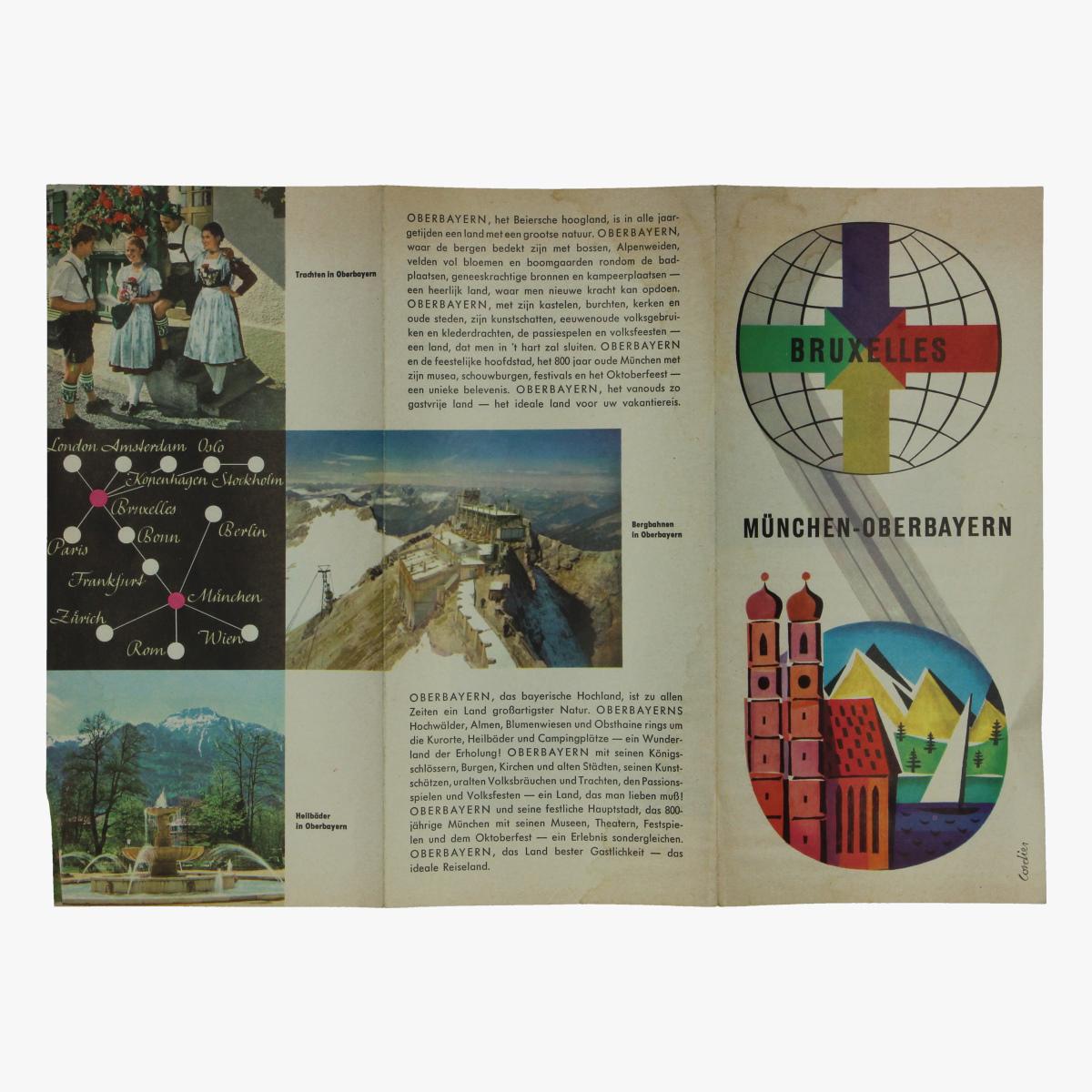 Afbeeldingen van expo 58 folder bruxelles münchen-oberbayern