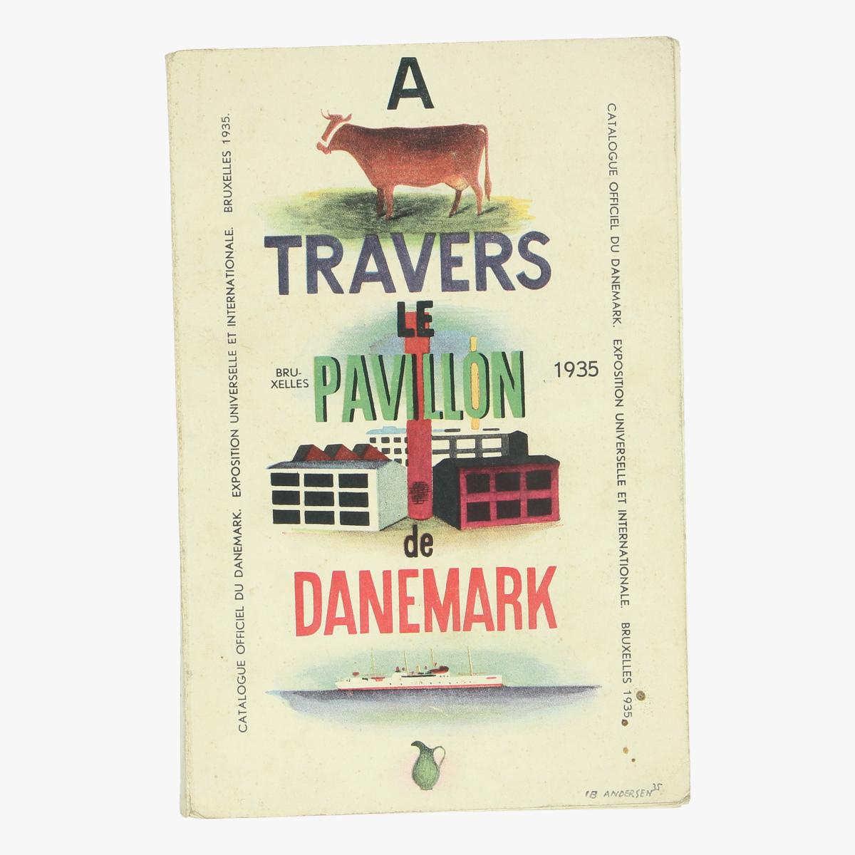 Afbeeldingen van cataloque officiel du danemark expo universelle et internationale bxl 1935