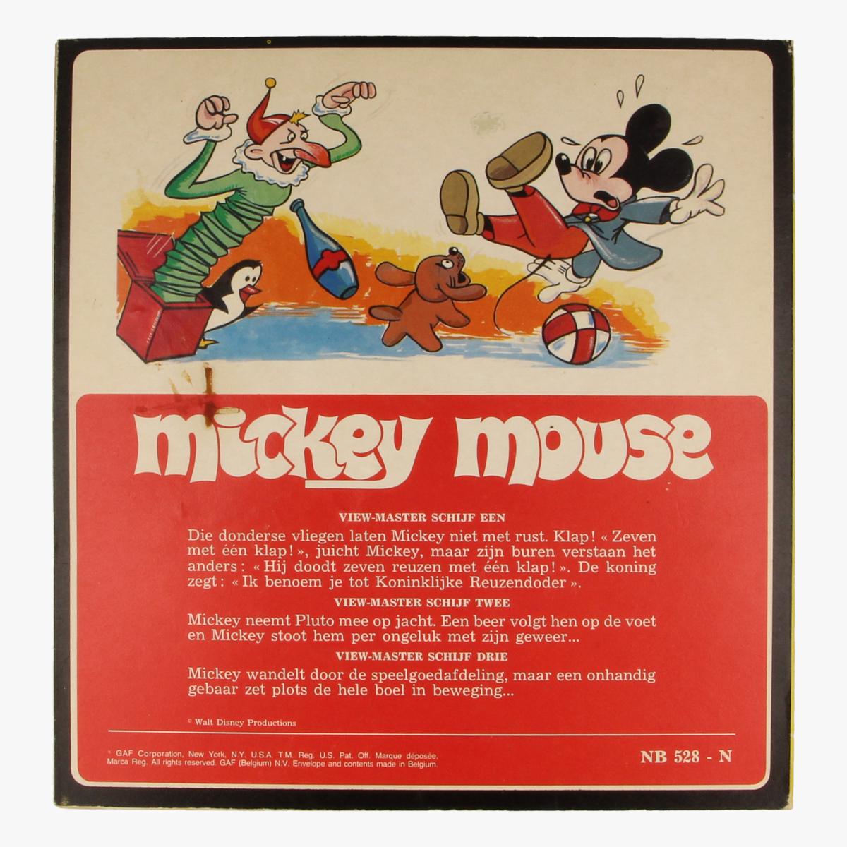 Afbeeldingen van View-master Mickey mouse B5281,B5282,B5283