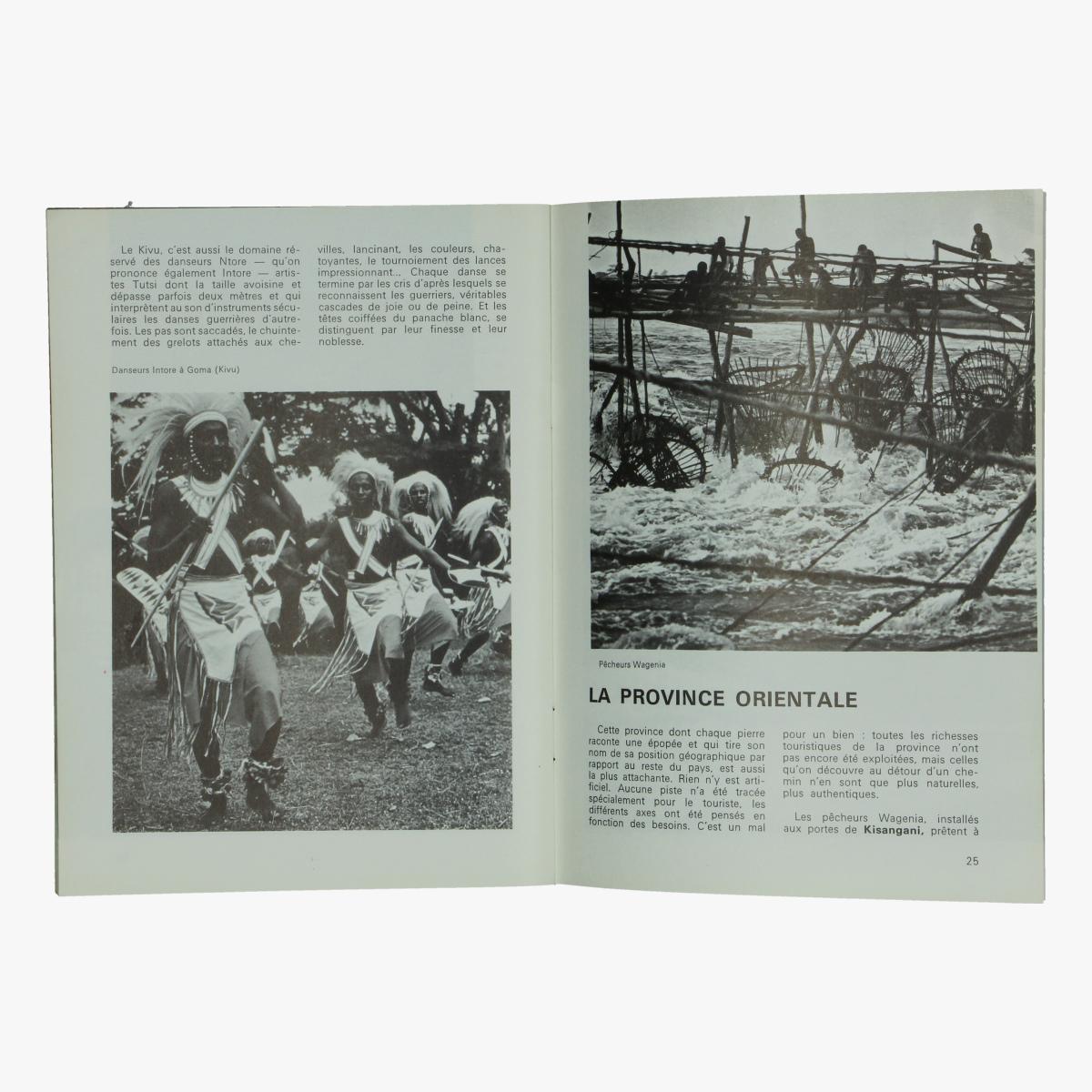 Afbeeldingen van sabena magazine n° 107 juni 1971 de congo