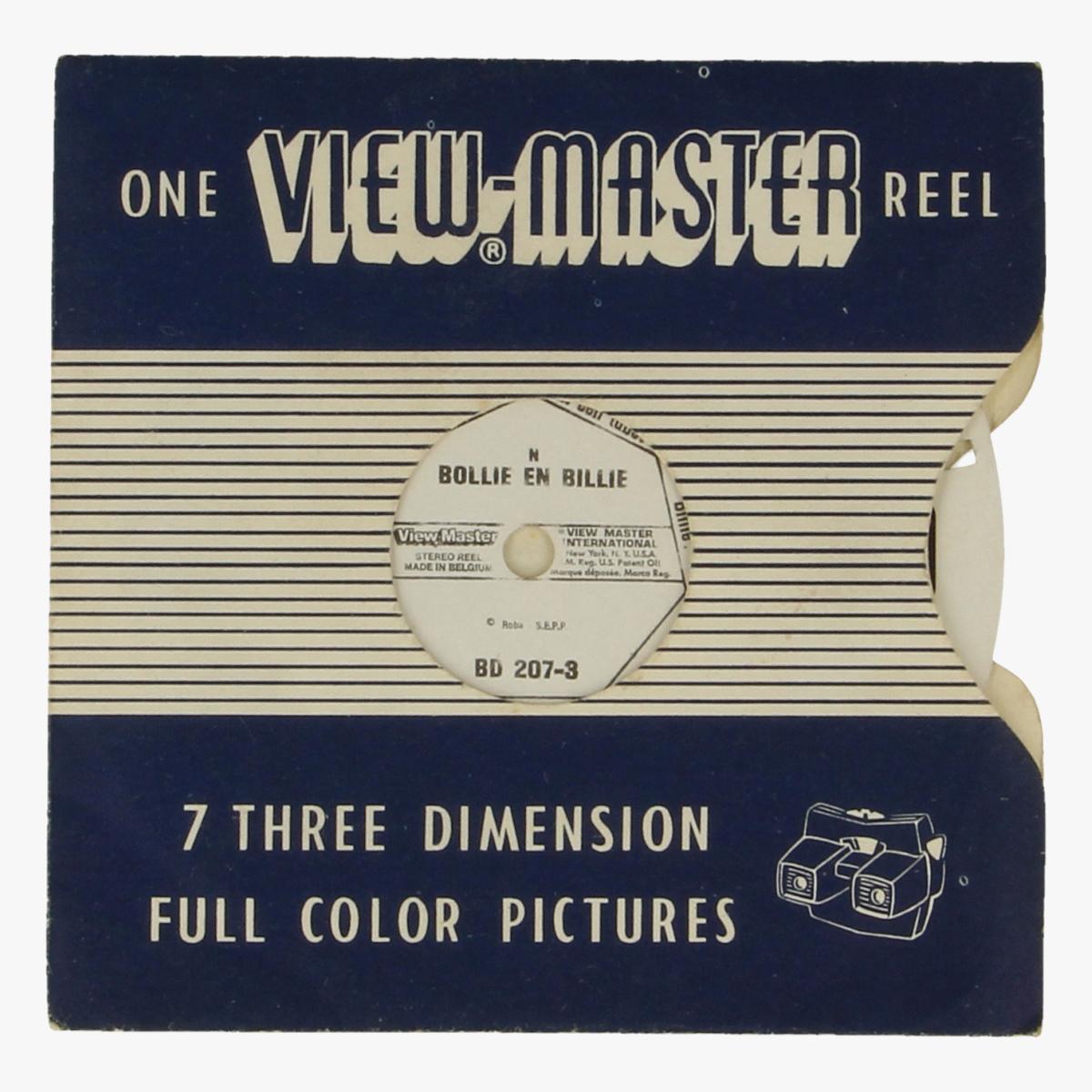 Afbeeldingen van View-master Bollie en Billie. Nr. BD 207-3
