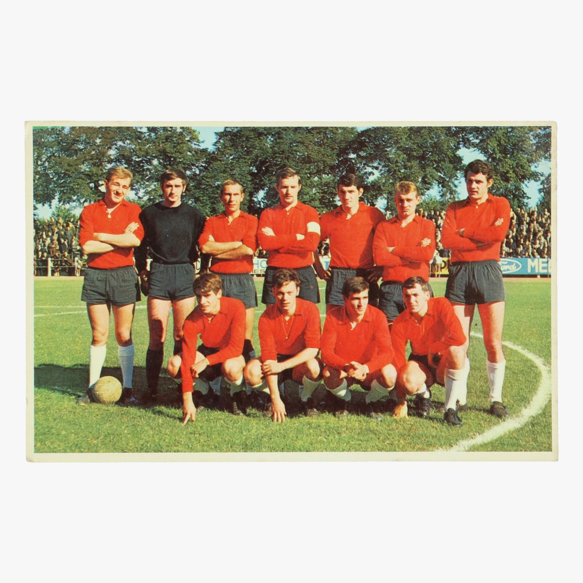 Afbeeldingen van oude postkaart voetbal diest