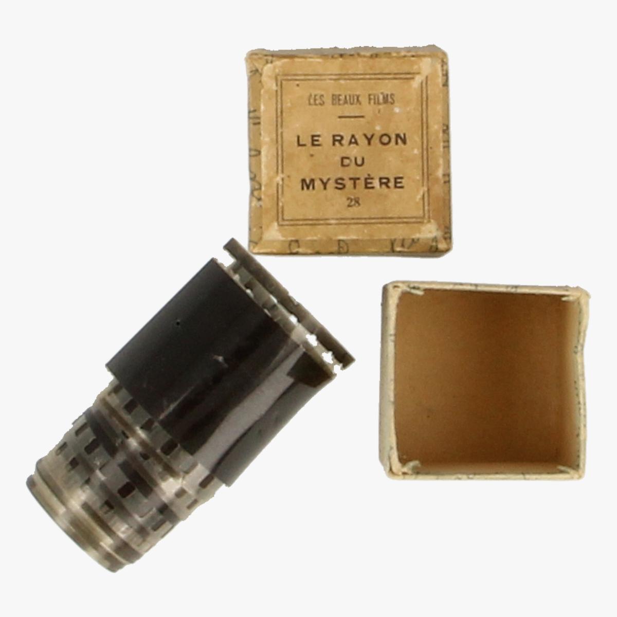 Afbeeldingen van Filmrollen Le Rayon du Mystère. les beaux films.