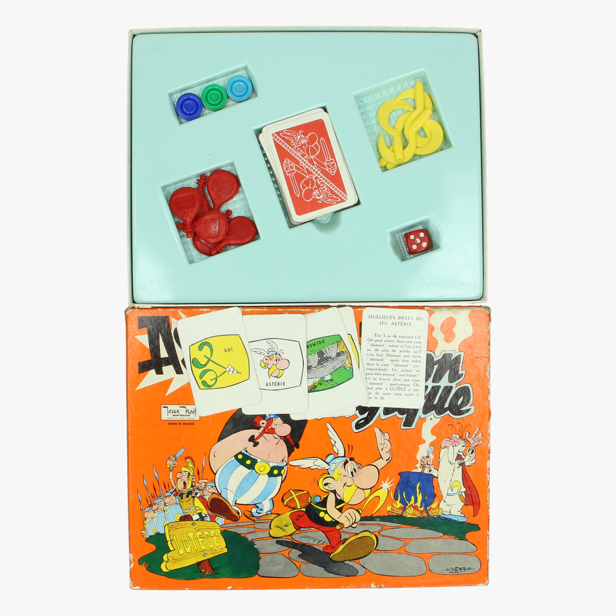 Afbeeldingen van bordspel astérix et la potion magique made in france