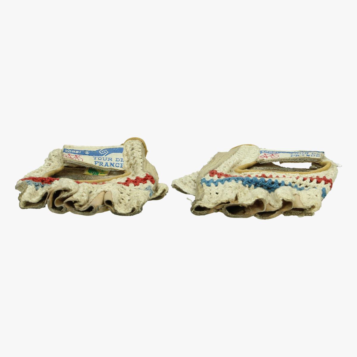 Afbeeldingen van oude wielrenners handschoenen tour de france Kombi