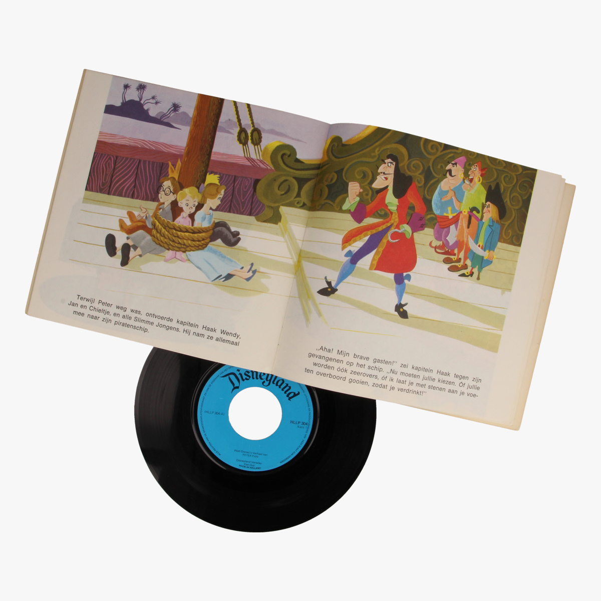Afbeeldingen van Singel Walt Disney Het verhaal van Peter Pan
