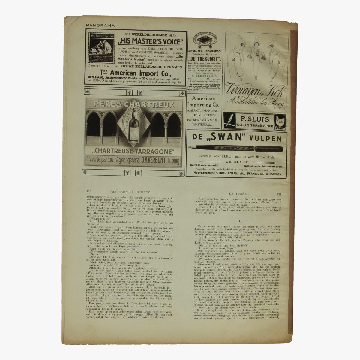 Afbeeldingen van oude weekblad panorama N°29    8 april 1915.