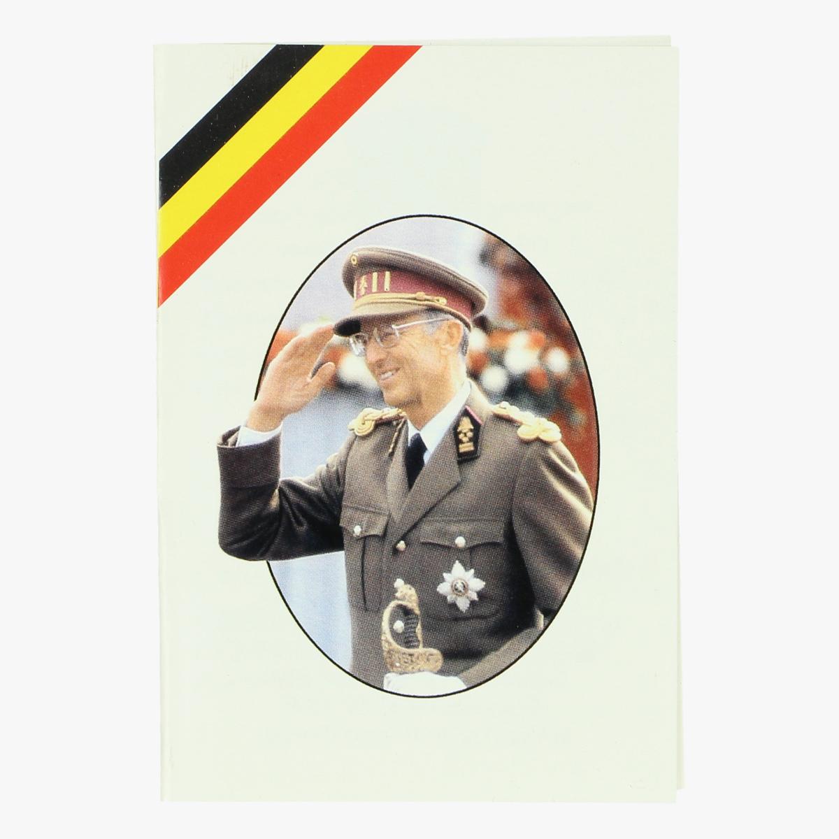Afbeeldingen van doodsprentje koning Boudewijn