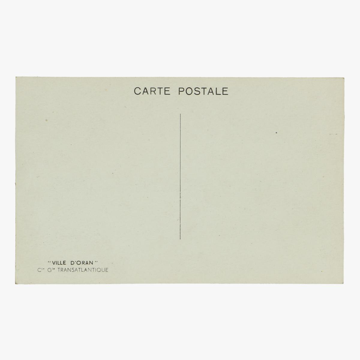 Afbeeldingen van oude postkaart schip Ville d'Oran