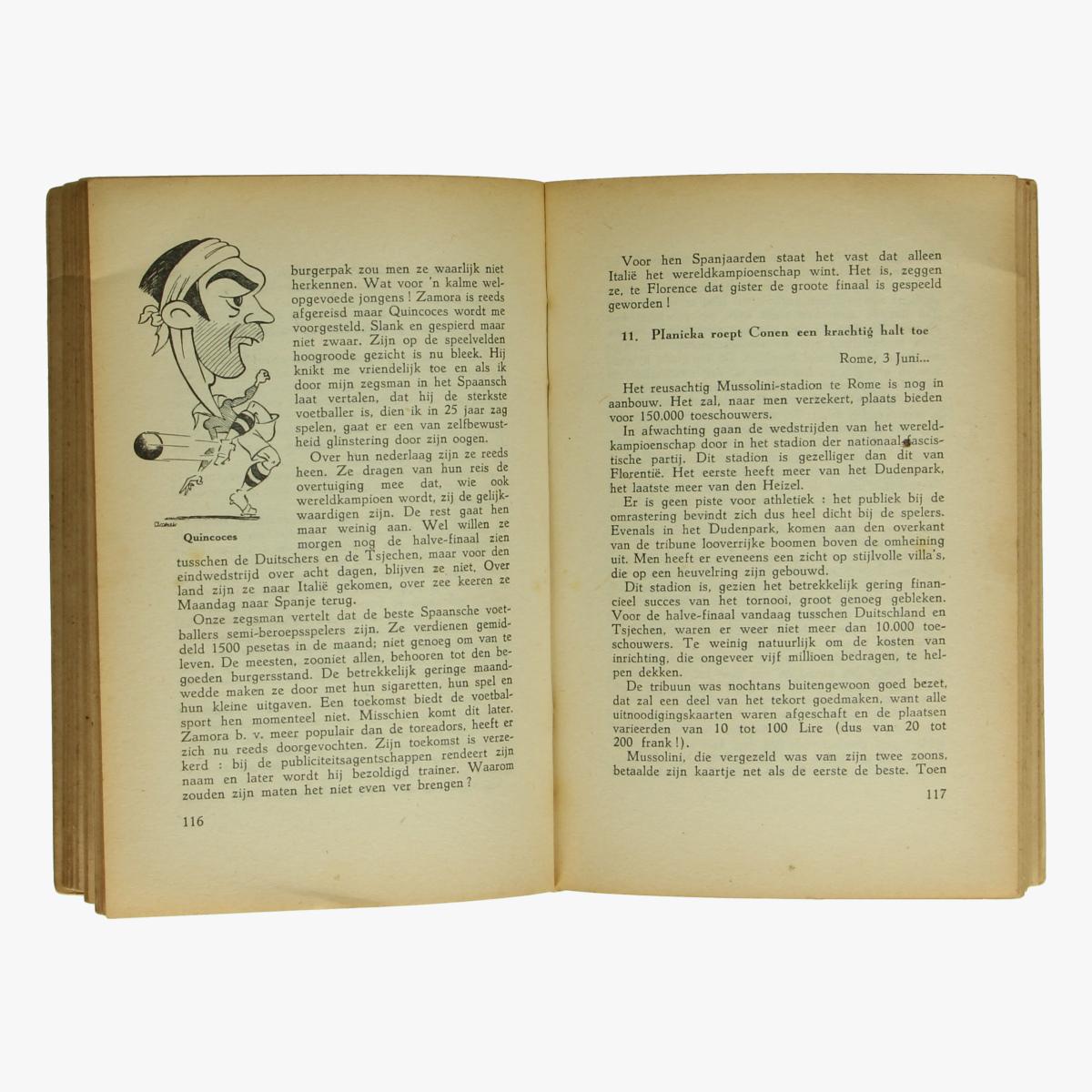 Afbeeldingen van Onze voetbalfiguren. Boek. Pol Jacquemyns 1942