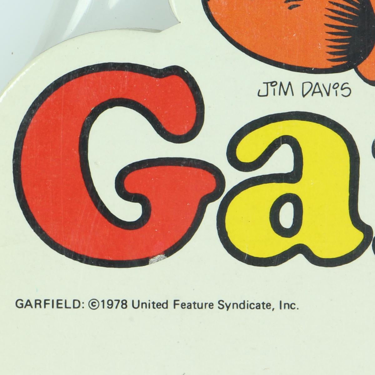 Afbeeldingen van Garfield schrijfbord 6stuks