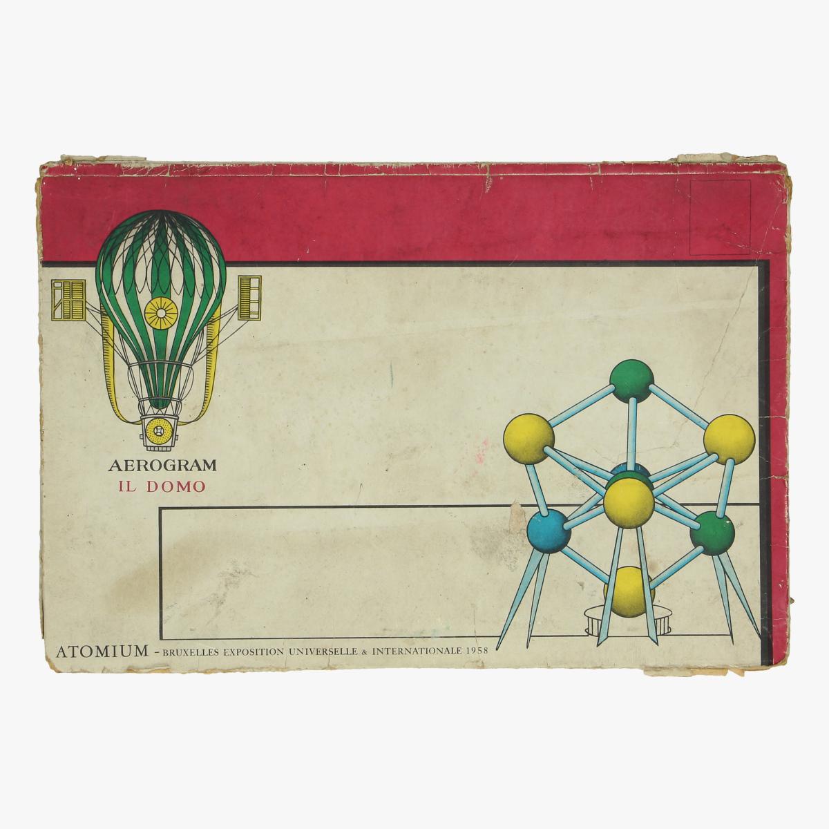 Afbeeldingen van expo 58 aerogram il domo  atomium