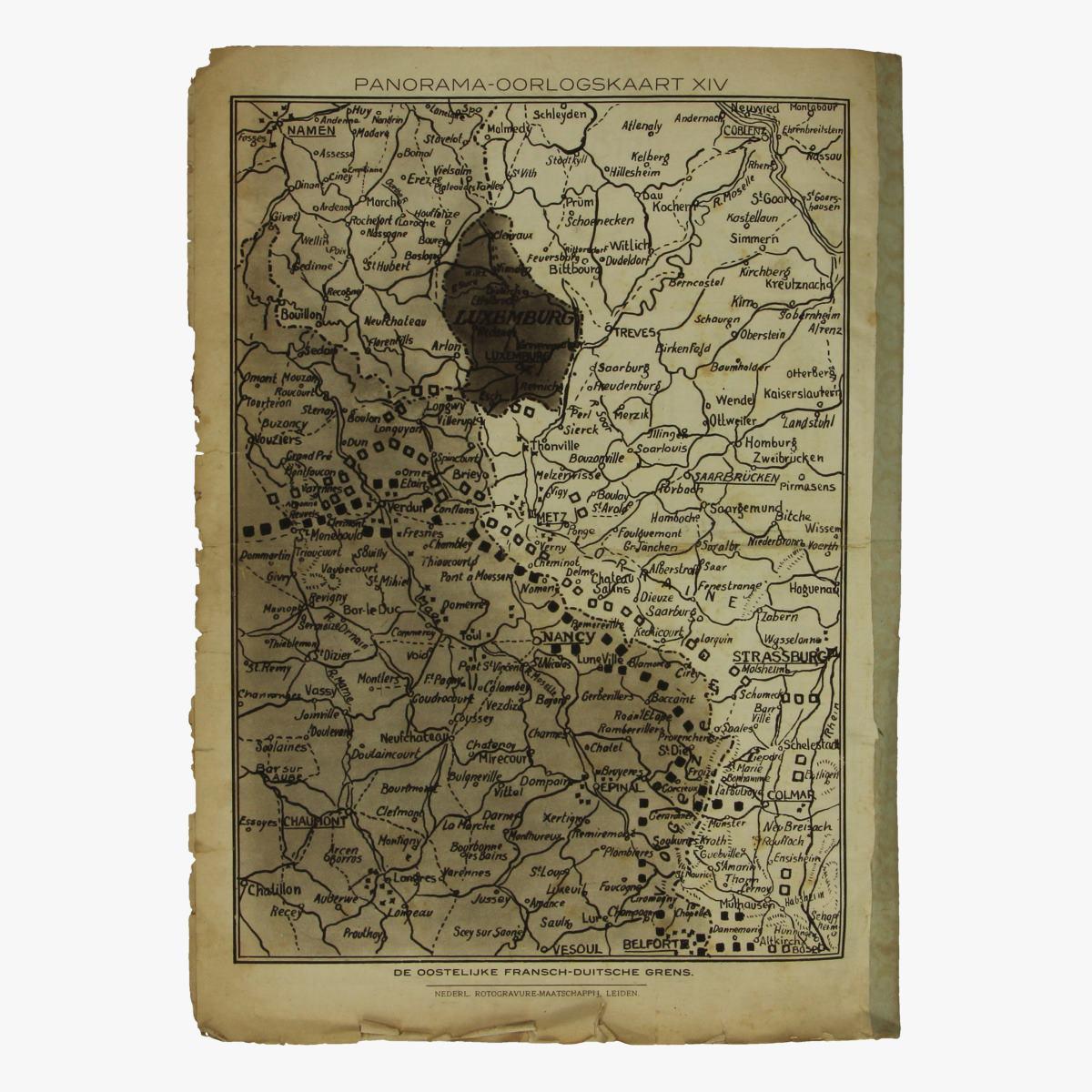 Afbeeldingen van oude weekblad panorama N°14a  2 oct. 1914