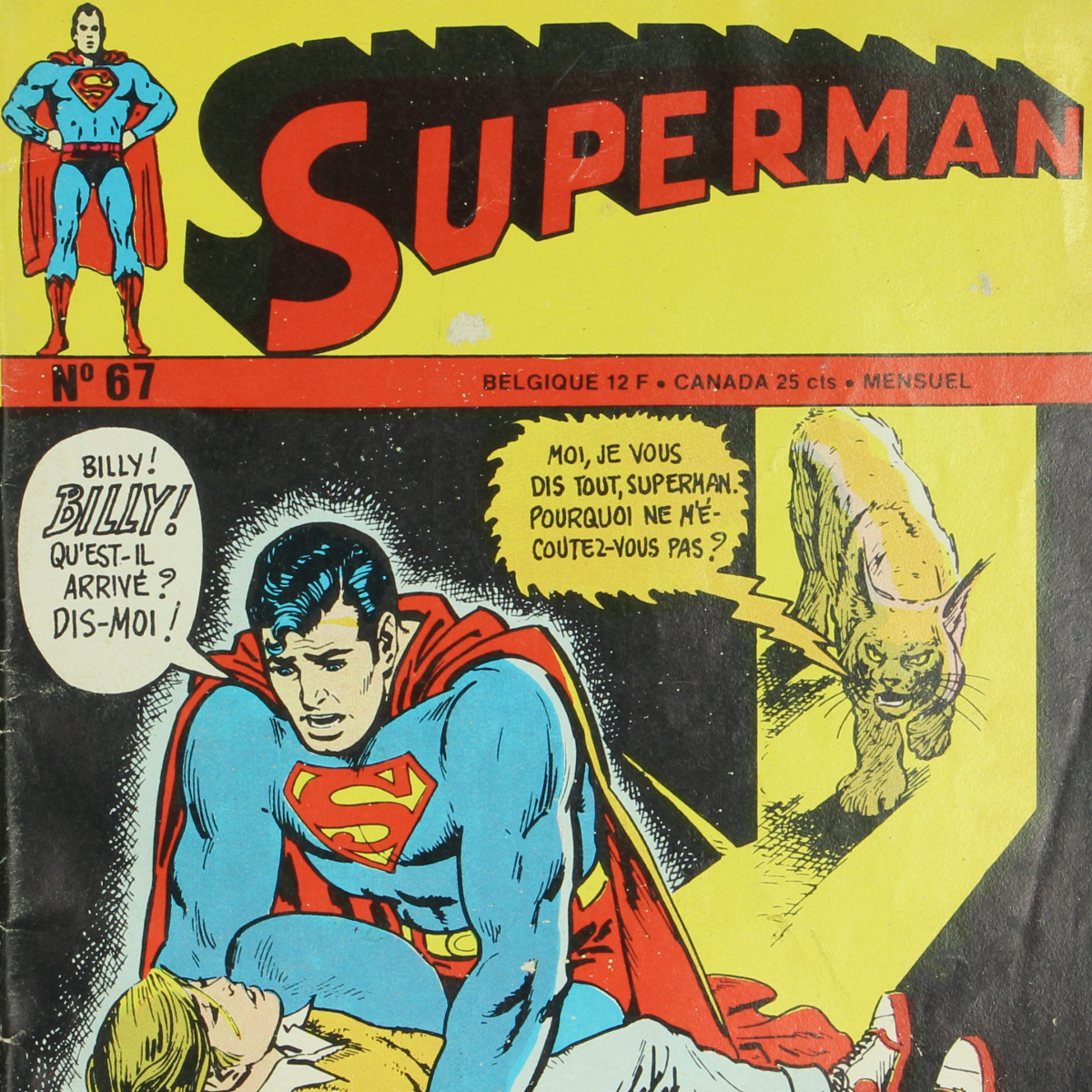Afbeeldingen van Superman Nr.67 1973 Stripverhalen